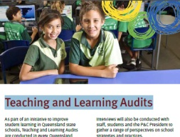 Teaching and learning audit